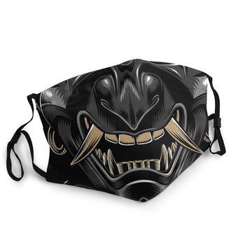 Oni Japan Samurai Demon Reusable Face Mask Anti Haze Dustproof Protection Respirator Mouth Muffle - discount item  40% OFF Mask