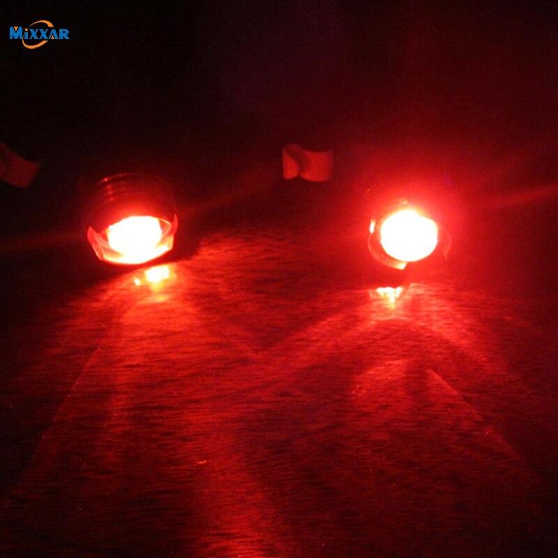 Дропшиппинг LED водонепроницаемый велосипедный задний шлем красная вспышка безопасная предупреждающая лампа предостережение