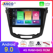 цена на Octa Core Android 9.0 Car Radio GPS Navigation Multimedia Player Stereo For Nissan Qashqai X-Trail 2014+ 2017 Auto Audio