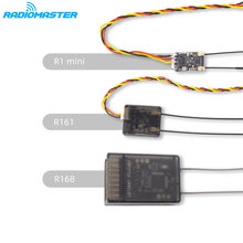 Radiomaster R1mini/R161/R168 2.4G 8CH/16CH D8/D16 Mini Receiver for TX16S SE Jumper T18 Frsky X9D X-lite Radio Transmitters(China)