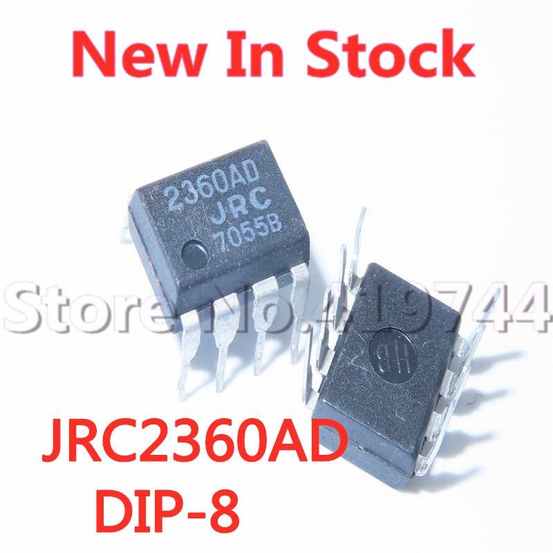 5 шт./лот 100% качество 2360AD NJM2360AD JRC2360AD DIP-8 контроллер конвертера в наличии новый оригинальный