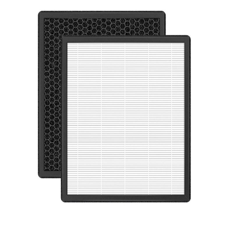 Купить с кэшбэком Fit for 3M Air Purifier Filter KJEA200E \ 2066 \ 2068 ActivatedCarbon HEPA Filter Air Purifier Parts
