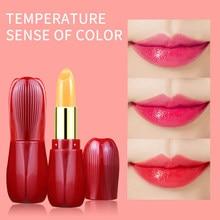 Thermochromic Lip Balm Long Lasting Lip Gloss Moisturizing Nourishing Smoothing Lip Lines Makeup