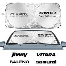 Parasole per parabrezza auto per Suzuki Alto Baleno Celerio Ciaz Equator Ertiga Grand Vitara Ignis Jimny s cross Swift SX4 Vitara