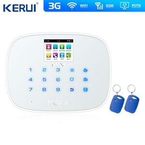 Image 2 - W193 3G 4G WIFI PSTN GSM SMS Home Sistemi di Allarme Antifurto LCD GSM SMS Touch Screen di Allarme di Sicurezza Domestica intruder Sistema di Controllo APP