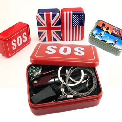 SOS Outdoor Travel Earthquake Vehicle First Aid Kit First Aid Box