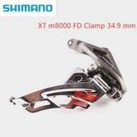 Shimano xt M8000 H frente desviador braçadeira 34.9mm bicicleta 3x11 velocidade alta frente desviador|front derailleur|shimano xtfront derailleur clamp -