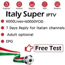 Подписка на IP tv Италия немецкий Великобритания Албания Польша Европа итальянский взрослый IP tv Lives+ VOD IP tv m3u Enigma2 Smart tv Android VLC