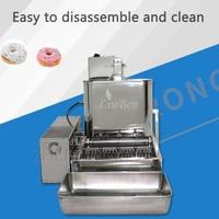 Four Rows Mini Fully Automatic Donut Machine 110V/220V Donatz Pastry Dessert Bakery Restaurant Commercial Electrical Appliances