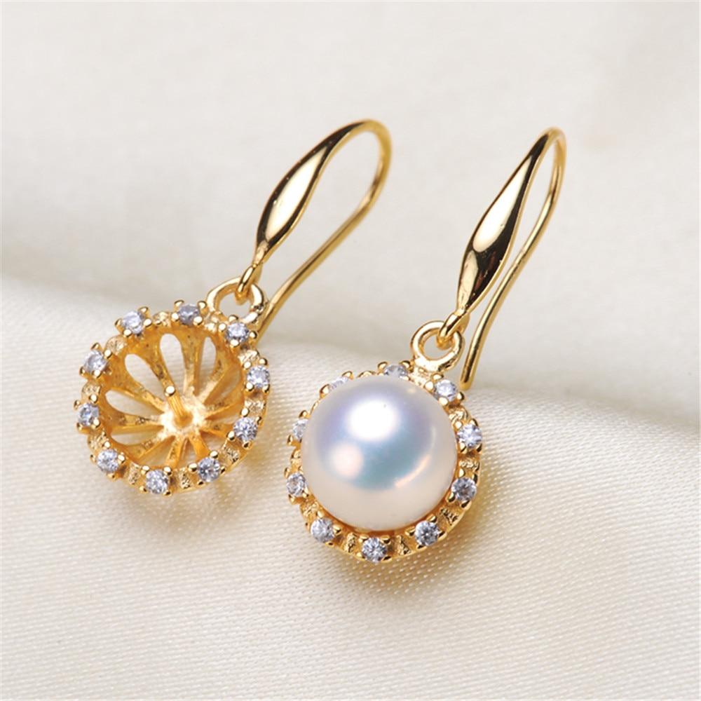 High Quality Pearl Earring Settings