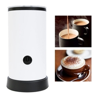 Automatic Milk Frother Coffee Foamer Container Soft Foam Cappuccino Maker Electric Coffee Frother Milk Foamer Maker EU PLUG Milk Frothers     -