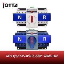 цена на JOTTA 4P 63A 380V ATS MCB type Dual Power Automatic Transfer Switch Change Over Switch