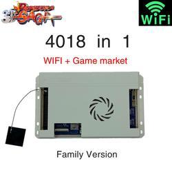 Pandora Spiele 3D Wifi 4018 in 1 Box Familie Version für Arcade Schrank Video Spiel Konsole Jamma Gamepad Motherboard FBA MAME PS