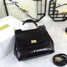 Luxury Brand Beautiful Tote Bags Female Shoulder Bag Genuine Leather Real Messenger Flower Handbagesac main femme