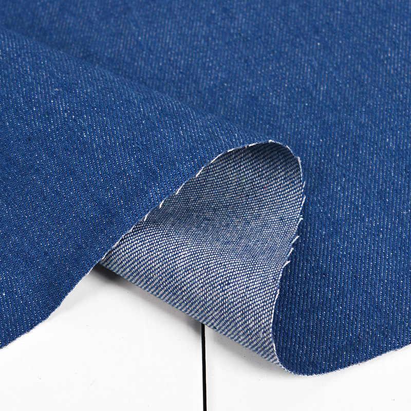 100*140CM pamuklu kot kumaş ceket kot kumaş gömlek elbise yaz ince Denim DIY el yapımı patchwork kumaş kapitone dikiş