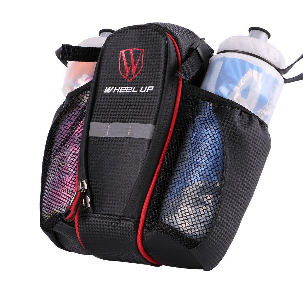 Сумка на седло велосипеда карман с двойным карманом для бутылки