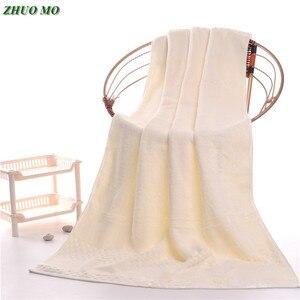 Image 1 - ZHUO MO 90*180cm 900g luksusowa egipska bawełna ręczniki dla dorosłych, bardzo duża Sauna Terry ręczniki kąpielowe, duże ręczniki kąpielowe ręczniki