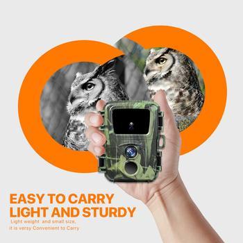 Mini Trail Hunting Camera  12MP 1080P Wildlife Forest Animal Cameras Wild Hunter Cam Mini600 Photo Trap Surveillance Tracking 2