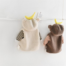 Baby Winter Outerwear Fleece Toddler Girls Boys Kids Warm Infant for Coat Vest Thick