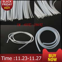 3 Meter 1 M Food Grade Transparent Silicone Tube Soft Rubber Hose 3 4 5 6 7 8 9 10mm Out Diameter Flexible Milk Hose Beer Pipe