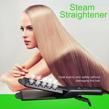 Hair Straightener Flat Iron Women Four-Gear for Panel Temperature-Adjustment