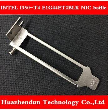 INTEL I350-T4 E1G44ET2BLK four-port Gigabit network card pcie short bezel short block 10pcs free shipping