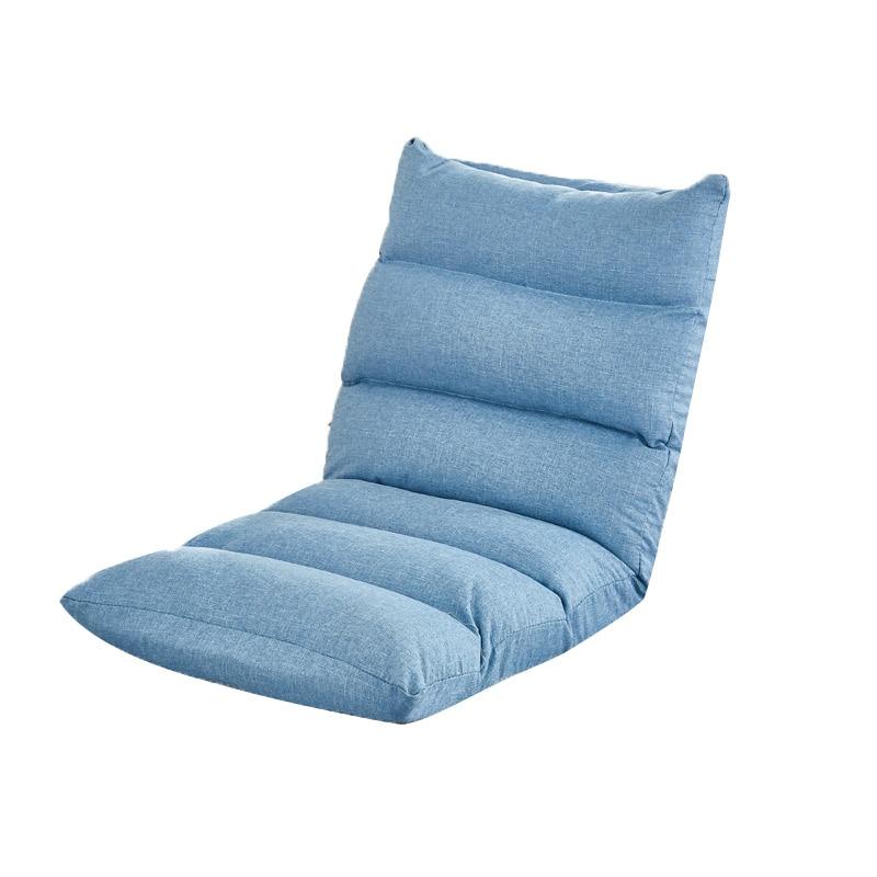 Lazy sofa Japanese-style tatami single folding small sofa bedroom balcony bay window cushion net red bed chair