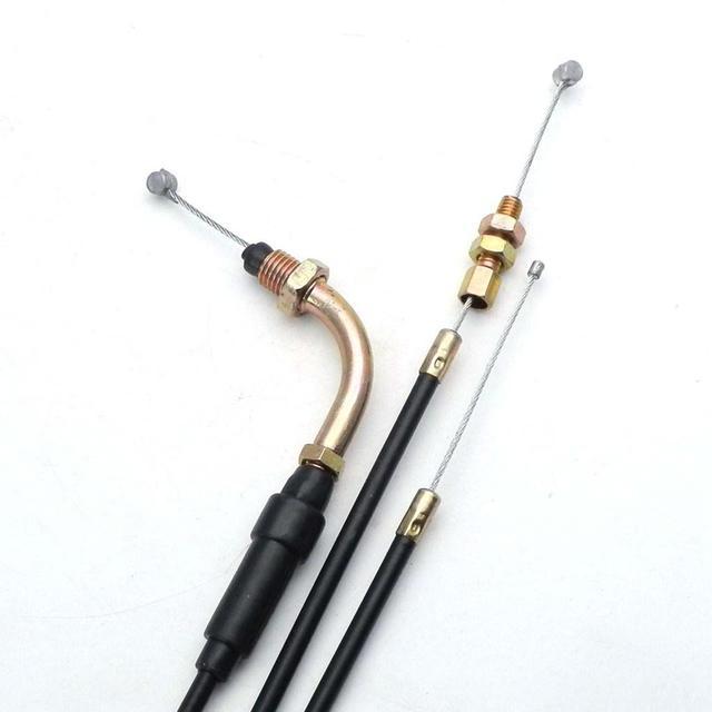Starter de câble de carburateur daccélérateur de moto pour Honda 125 moteur PZ27 PZ30 Carb