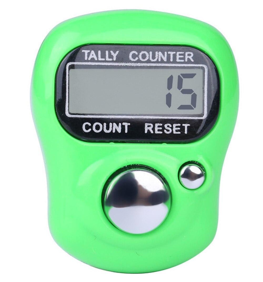 LCD Digital Finger Tally Counter PURPLE Tally Counter Finger Row Counter Small Row counter Digital Stick Counter Digital Row Counter