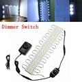 20 шт./лот светодиодный модуль светильник 5050 300 см DC12V водонепроницаемый рекламный дизайн светодиодный модуль белый RGB цвет супер яркий свети...
