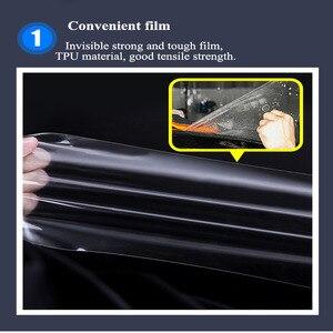 Image 5 - Chang An CS85 2019 TPU 대시 보드 내비게이션 스크린 보호 필름 스크래치 방지 지문 고탄성 스티커