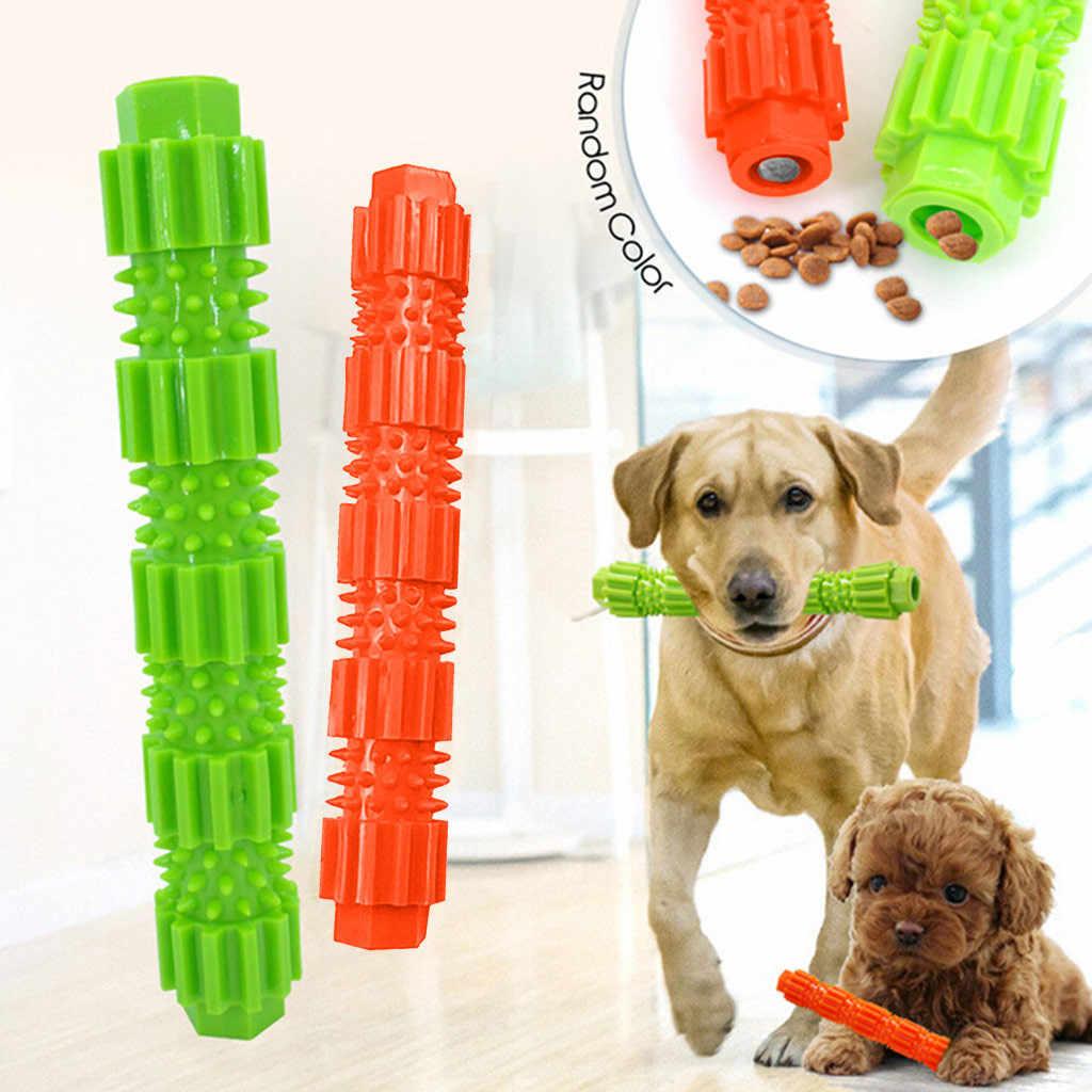 สุนัขของเล่นสุนัข Chew ของเล่นก้าวร้าว Chewer การฝึกอบรมฟันทำความสะอาดแปรงแปรงสีฟันสำหรับสุนัขสัตว์เลี้ยง Toy Stick Doggy อุปกรณ์ # jink