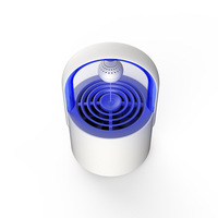 Suspension magnetic floating mosquito killer led photocatalyst mosquito killer portable for mother and baby