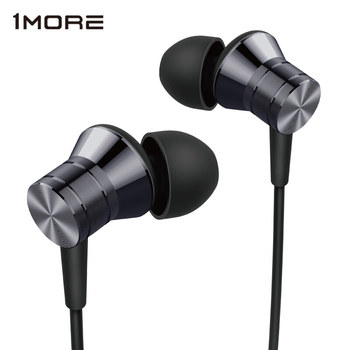 1MORE E1009 Piston Metal Stereo Earphone In Ear Wired Headset Ear buds with 3.5mm In Balanced Immersive Bass Earphones 1more e1001 triple driver in ear earphones earbuds earpiece headset with apple ios and android compatible microphone 1more e1001