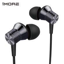 1MORE E1009 مكبس المعادن ستيريو سماعة في الأذن سماعة رأس سلكية وسادات أذن مع 3.5 مللي متر في متوازنة غامرة سماعات أذن باص