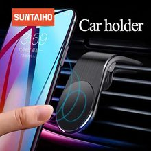 Suntaiho Phone Holder For Phone In Car Mobile Support Magnet