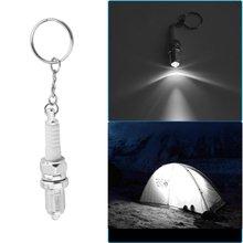 Светодиодный брелок с фонариком, автомобильные запчасти, брелок с кольцом для ключей в форме внешней настройки, брелок с подвеской, аксессуары, Прямая поставка