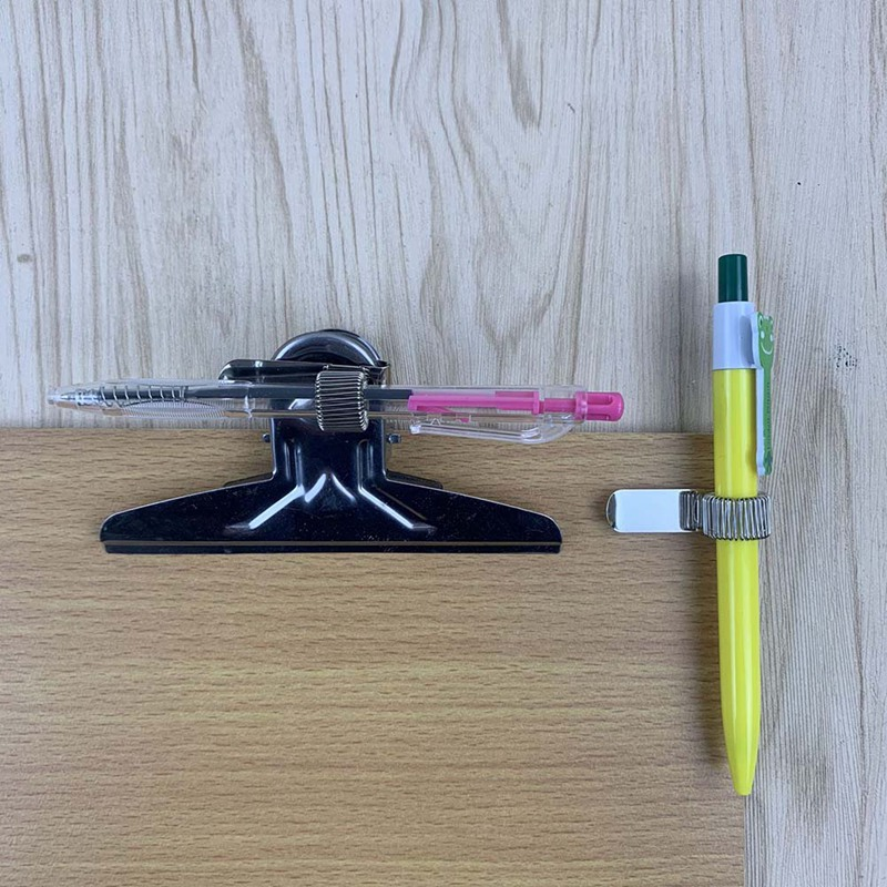 Useful Triple Hole Metal Pen Holder Pocket Clip Doctors Nurse Uniform Office HS