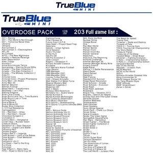 Image 3 - 203 oyunları gerçek mavi Mini aşırı doz paketi PlayStation klasik (128GB) aksesuarları 2019 ön sipariş satış sıcak 2 oyuncu oyunları