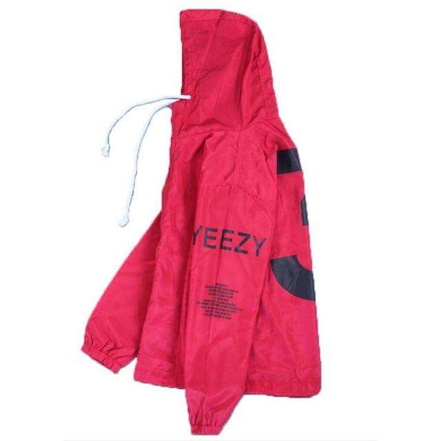 2021 Spring Kanye West Y3 Men's Windbreaker Jacket Outdoor Hooded Bomber Jacket Men Harajuku Hip Hop Streetwear Coats Outwear 4