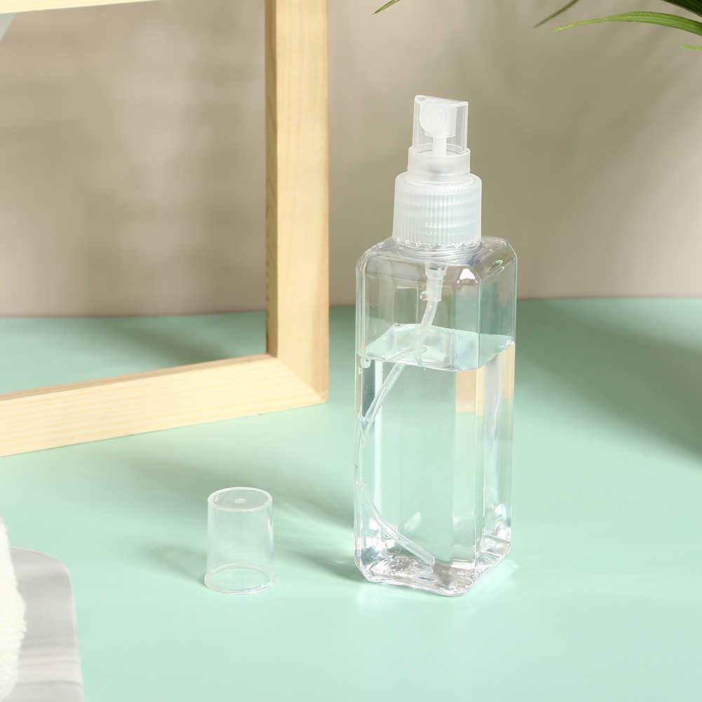 12 個 50 ミリリットル 100 ミリリットル透明スプレーボトル香水液体化粧アトマイザー空のスプレー詰め替え瓶トラベルボトル