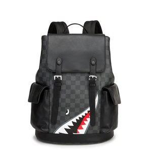 Большой Вместительный рюкзак с несколькими карманами, повседневный модный дорожный рюкзак, Студенческая сумка, уличная водонепроницаемая ...