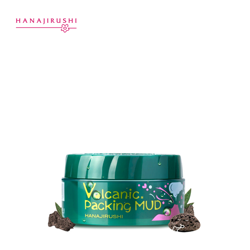 Image 5 - HANAJIRUSHI Clay Mask Volcanic Mud Face Mask Clear Pores Remove 