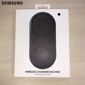 Image 5 - Original de Samsung cargador inalámbrico Duo de EP P5200 para galaxia S10 S10 X S10 + S10 más S9 de S2 de S3 nota Nota 8 iPhone Xs