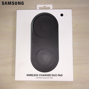 Image 5 - Samsung Original Wireless Charger Duo Pad EP P5200 For Galay S10 S10 X S10+ S10 Plus S9 Gear S2 Gear S3 Note 10 Note 8 iPhone Xs
