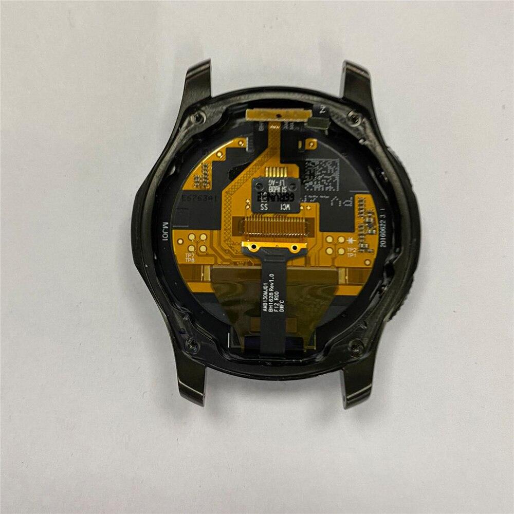 Montagem da Tela do Relógio com Escudo para Samsung Substituição Gear Sm-r765 Relógio Inteligente Reparação Acessórios s3 Sm-r760 –