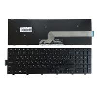 Teclado do laptop russo para DELL 490.00H07.0L01 SG-63310-XUA SG-63510-XAA 14092453411 V147225AS V147225AS1 SN8234 PK1313G1A00