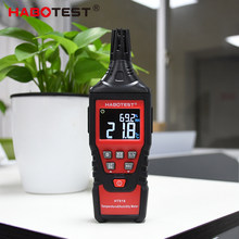 HABOTEST HT618 Digital Temperature Humidity Meter Wet Bulb Dew Point Thermometer Weather Station Monitor LCD Color Display