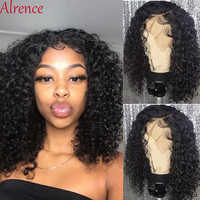 curly human hair wig perruque cheveux humain bresiliens solde bob wig kinky curly wig human hair lace front human hair wigs