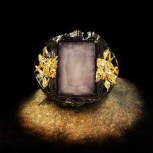 Роскошное Женское Обручальное кольцо с большим квадратным камнем